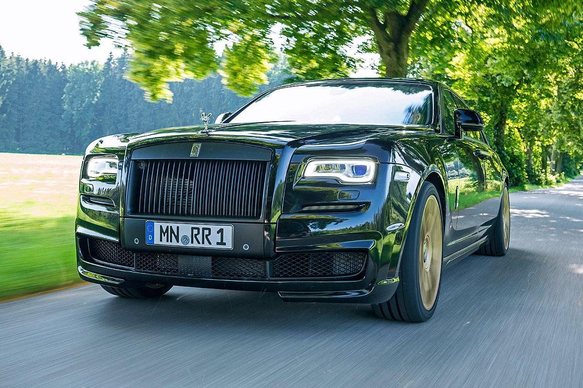 «685 лошадей под капотом»: тест-драйв Rolls-Royce Ghost 7