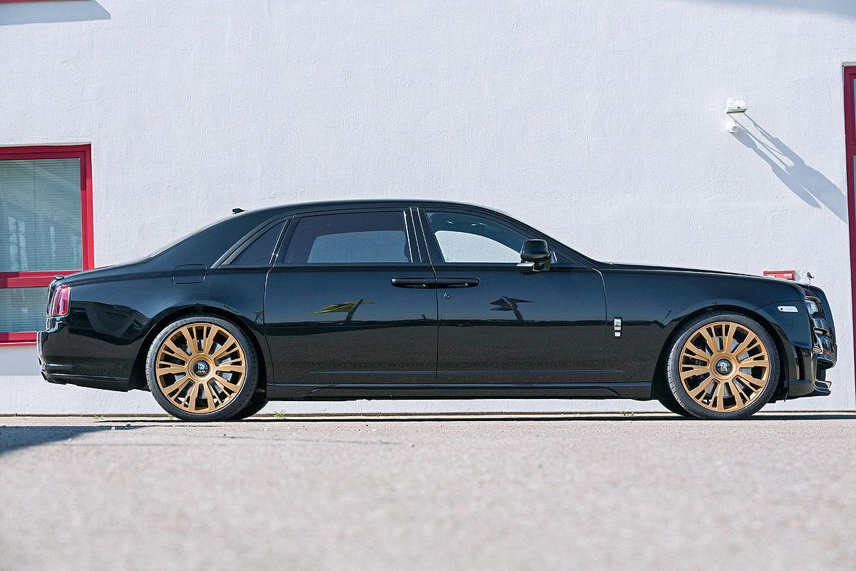 «685 лошадей под капотом»: тест-драйв Rolls-Royce Ghost 9