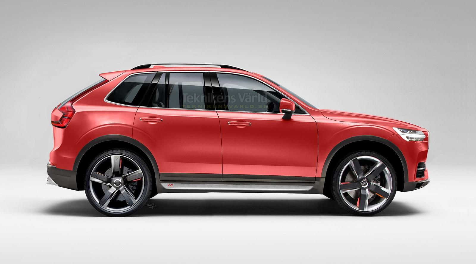 Volvo приступила к тестам внедорожника XC40 1