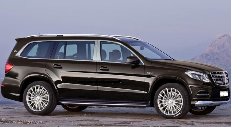 Внедорожник Mercedes-Maybach построят на новой платформе 1