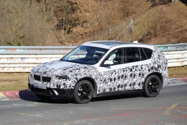 Марка BMW тестирует гибридную версию X1 1