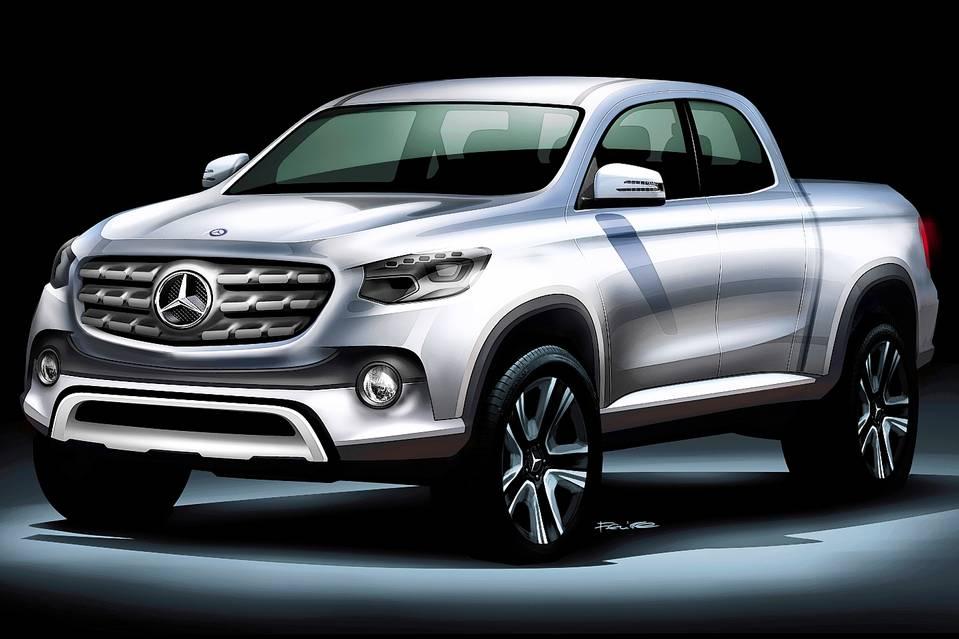 Пикап Mercedes-Benz не получит AMG-версию 1
