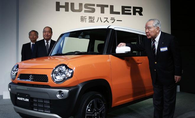 Suzuki Hustler впервые стал «лидером безопасности» 1