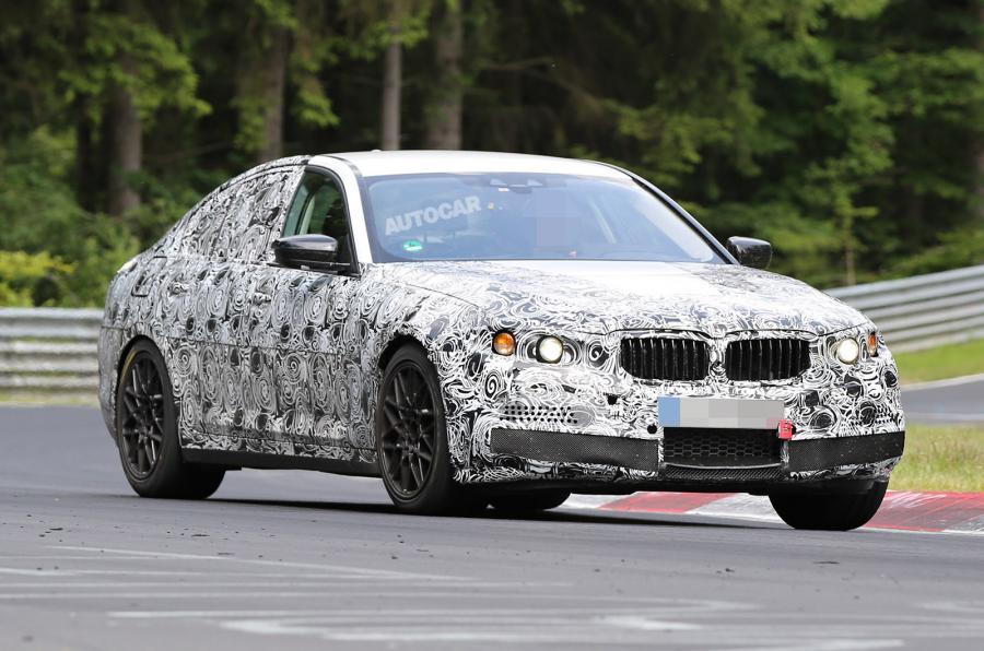 Прототип нового BMW M5 выехал на тесты 1