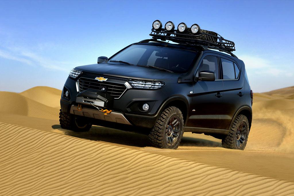Марка Chevrolet начала выпуск обновленной модели Niva 1