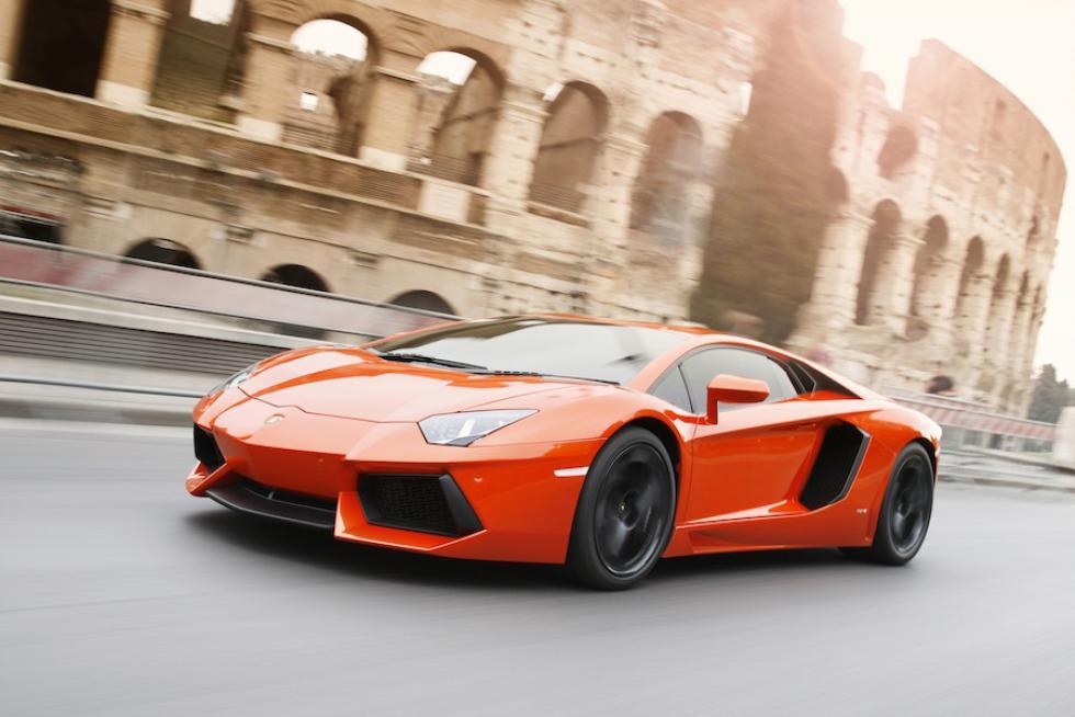 Компания Lamborghini выпустила юбилейный экземпляр Aventador 1
