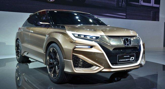 Компания Honda Motor создала новый внедорожник 1