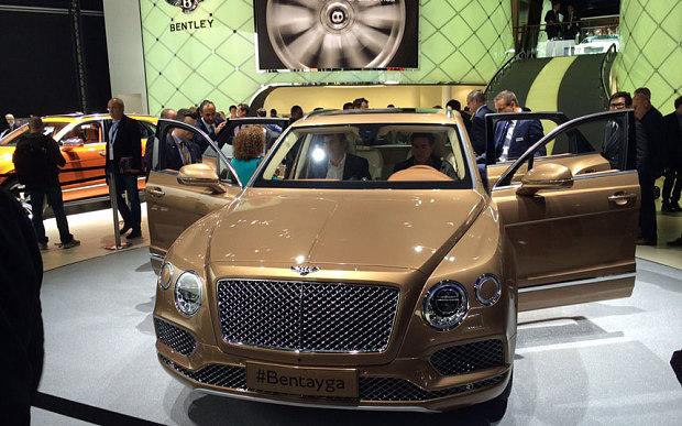 Первый Bentley Bentayga получил достойного владельца 1