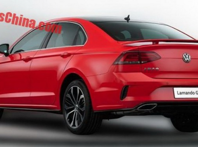 Появились фото нового Volkswagen Lamando GTS 2