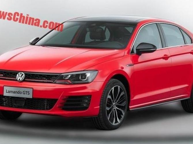 Появились фото нового Volkswagen Lamando GTS 1