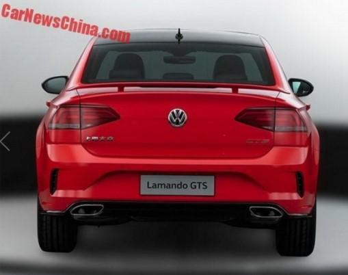 Появились фото нового Volkswagen Lamando GTS 3