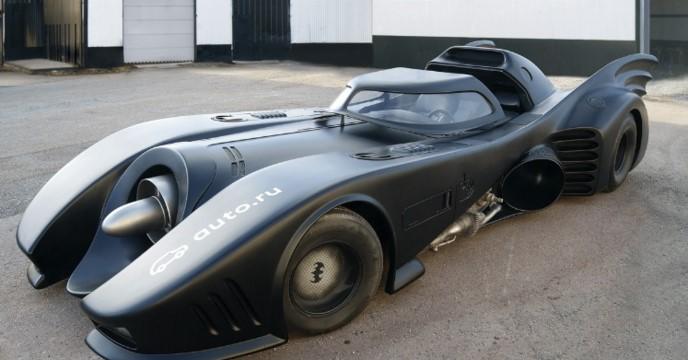 Единственный в мире Бэтмобиль продают за 1 миллион евро 1