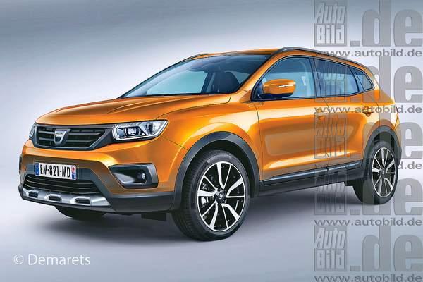В Renault определились с дизайном новой модели Duster 1