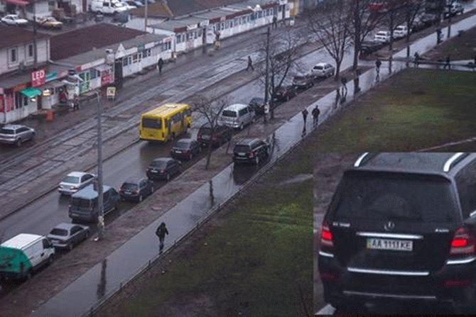 В Киеве замечен самый «наглый» из всех «героев парковки» 1