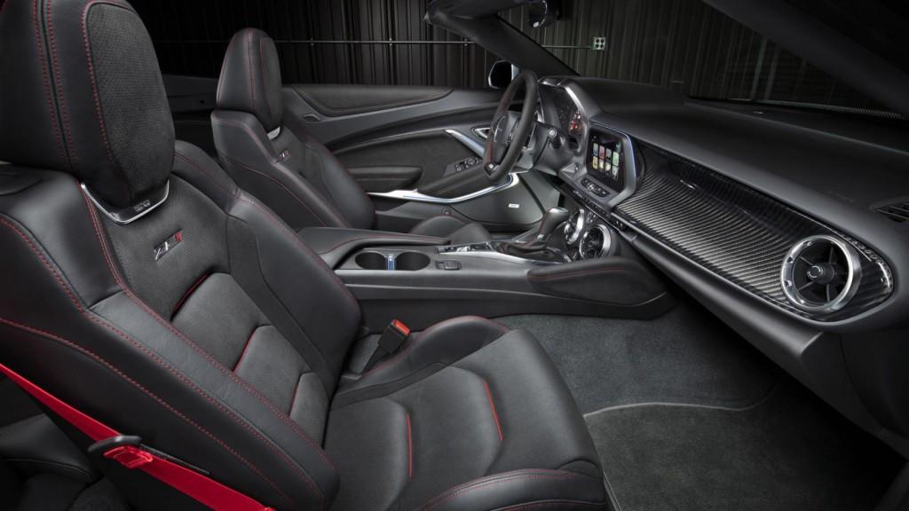 Новый Chevrolet Camaro ZL1 Convertible дебютировал на нью-йоркском автошоу 2