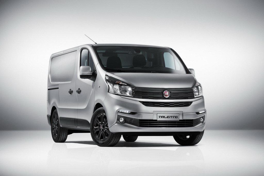 Fiat представил новую развозную модель Talento 1
