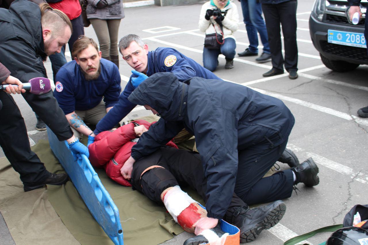 Патрульная полиция будет оказывать первую помощь при ДТП 1