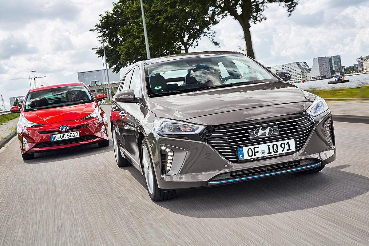 «Противостояние гибридов»: тест-драйв Hyundai VS Toyota 3