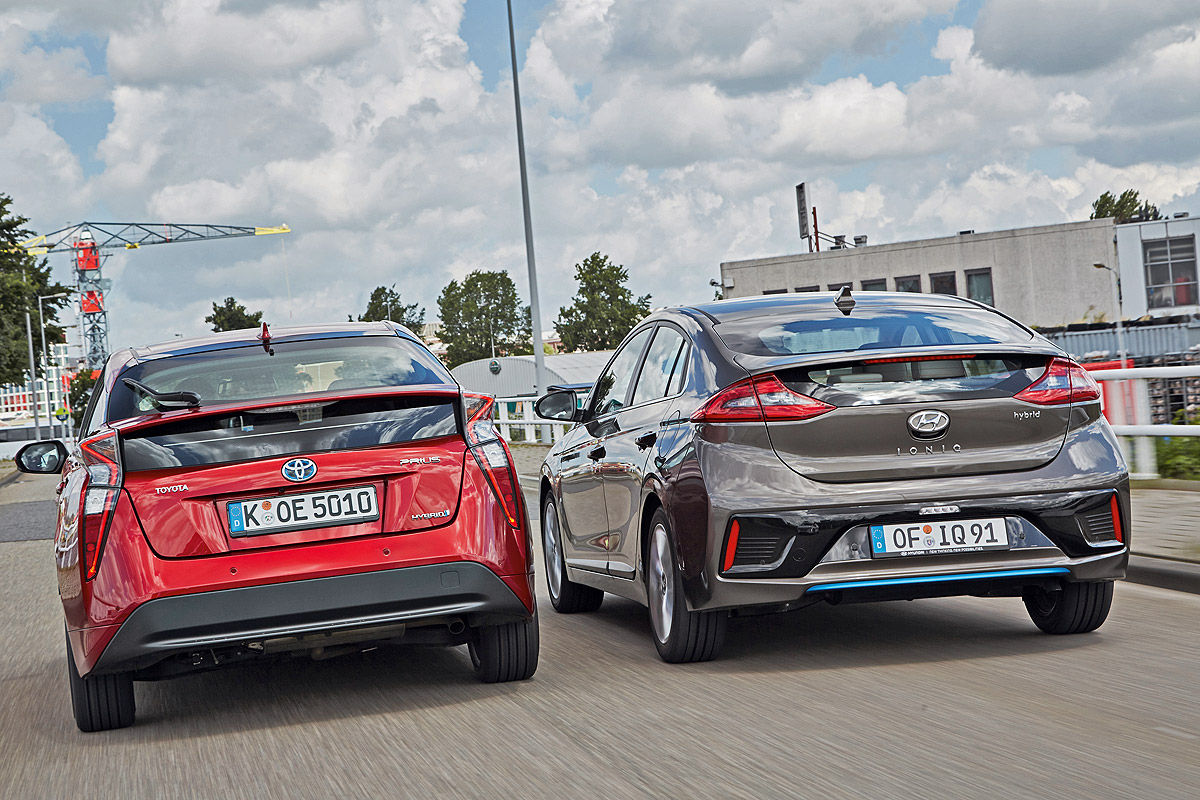 «Противостояние гибридов»: тест-драйв Hyundai VS Toyota 4