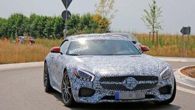 Новая модель Mercedes замечена на тестах 1