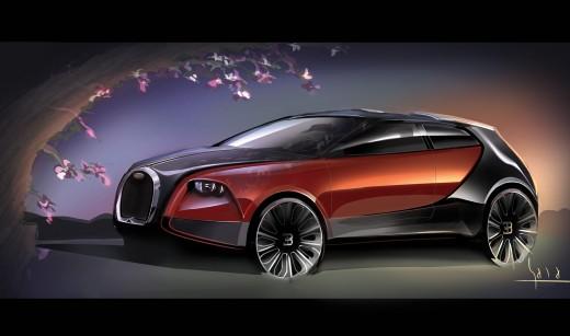 В Bugatti планируют кроссовер 1