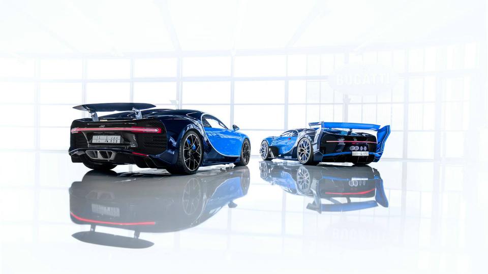 Два эксклюзивных Bugatti обрели владельца 1