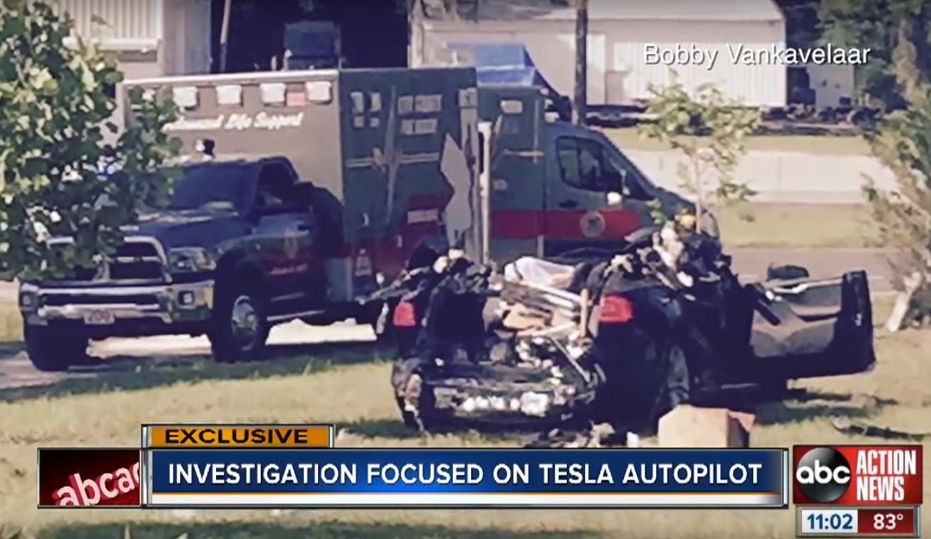 Tesla признала, что причиной смерти водителя стала система автопилота 1