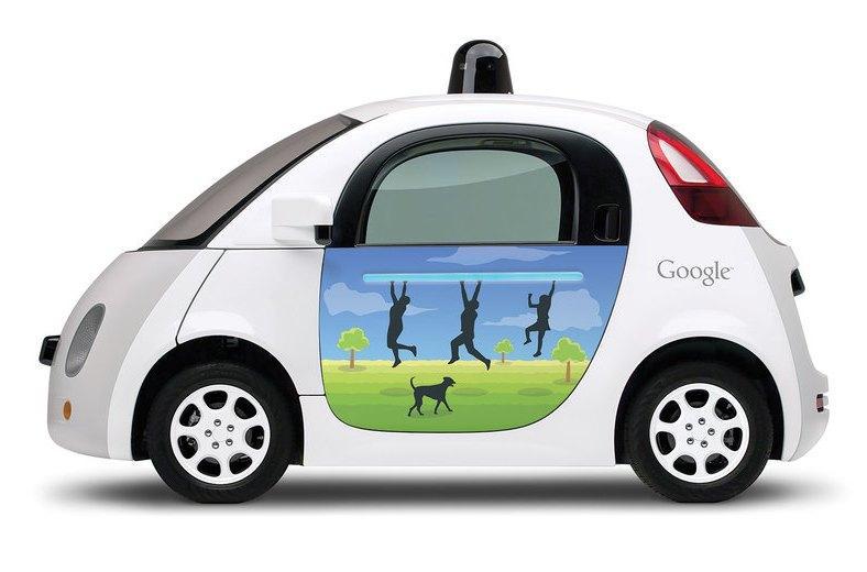 Беспилотный автомобиль Google стал участником ДТП 1