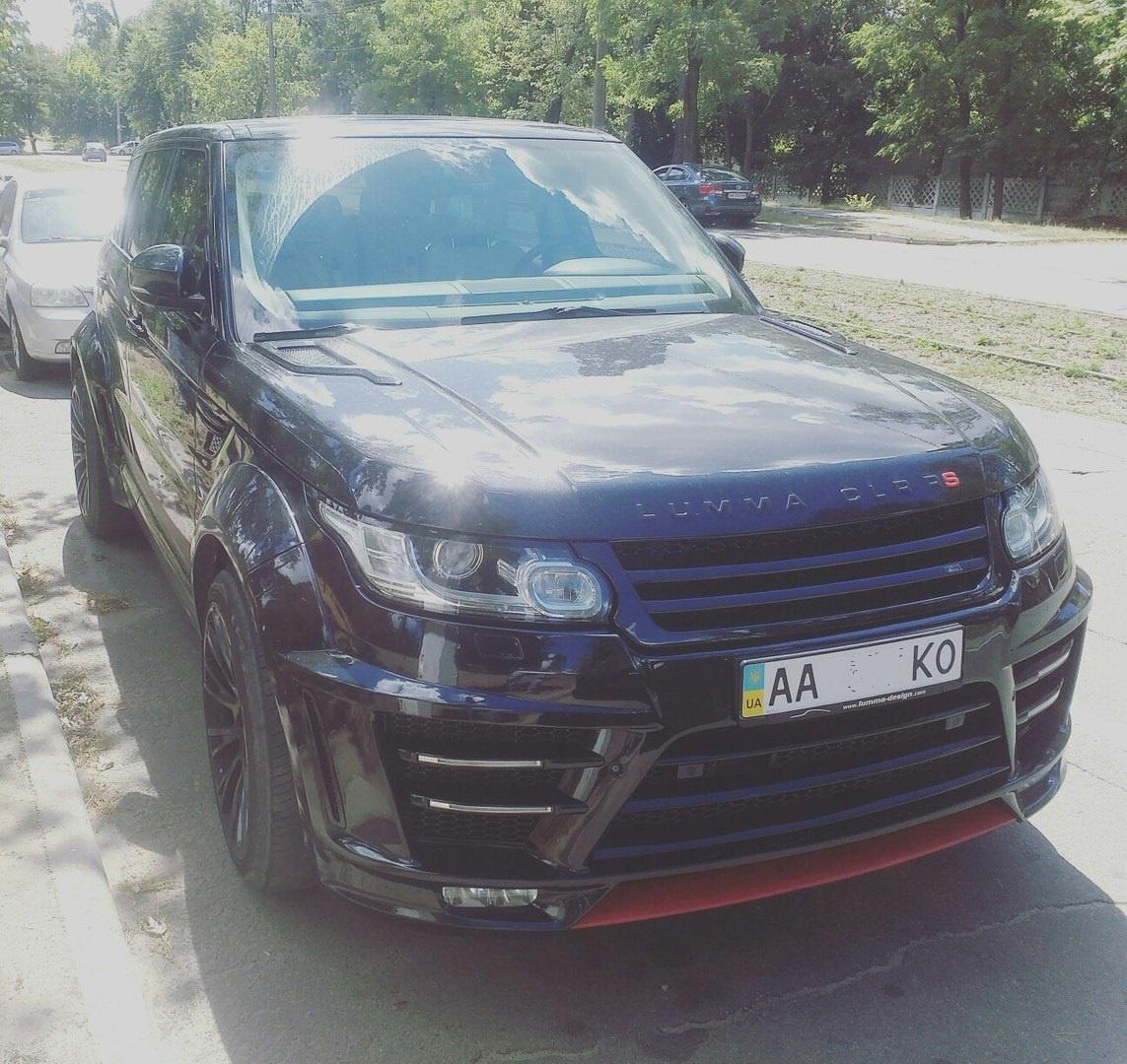 В Украине замечен мега крутой Range Rover 1