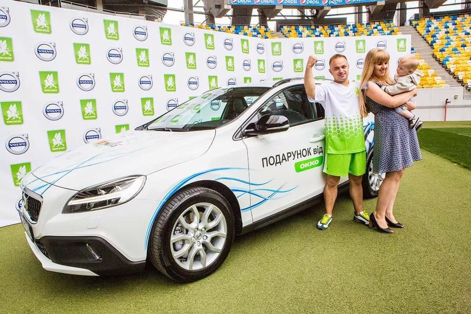 Сеть «ОККО» вручила второй Volvo за самую меткую серию голов 4