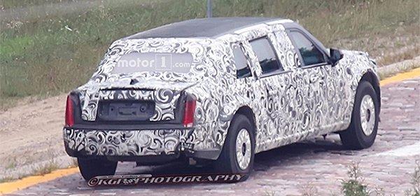 Компания GMC тестирует лимузин для будущего президента США 2