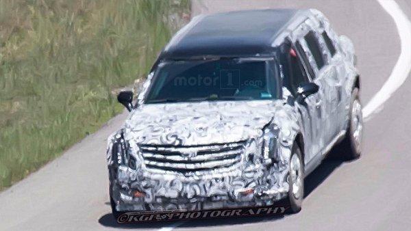 Компания GMC тестирует лимузин для будущего президента США 1