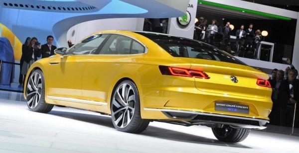 Новый Volkswagen Passat CC выйдет под новым названием 2