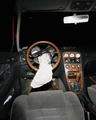 Вид из салона автомобилей, разбившихся в кошмарных ДТП 3