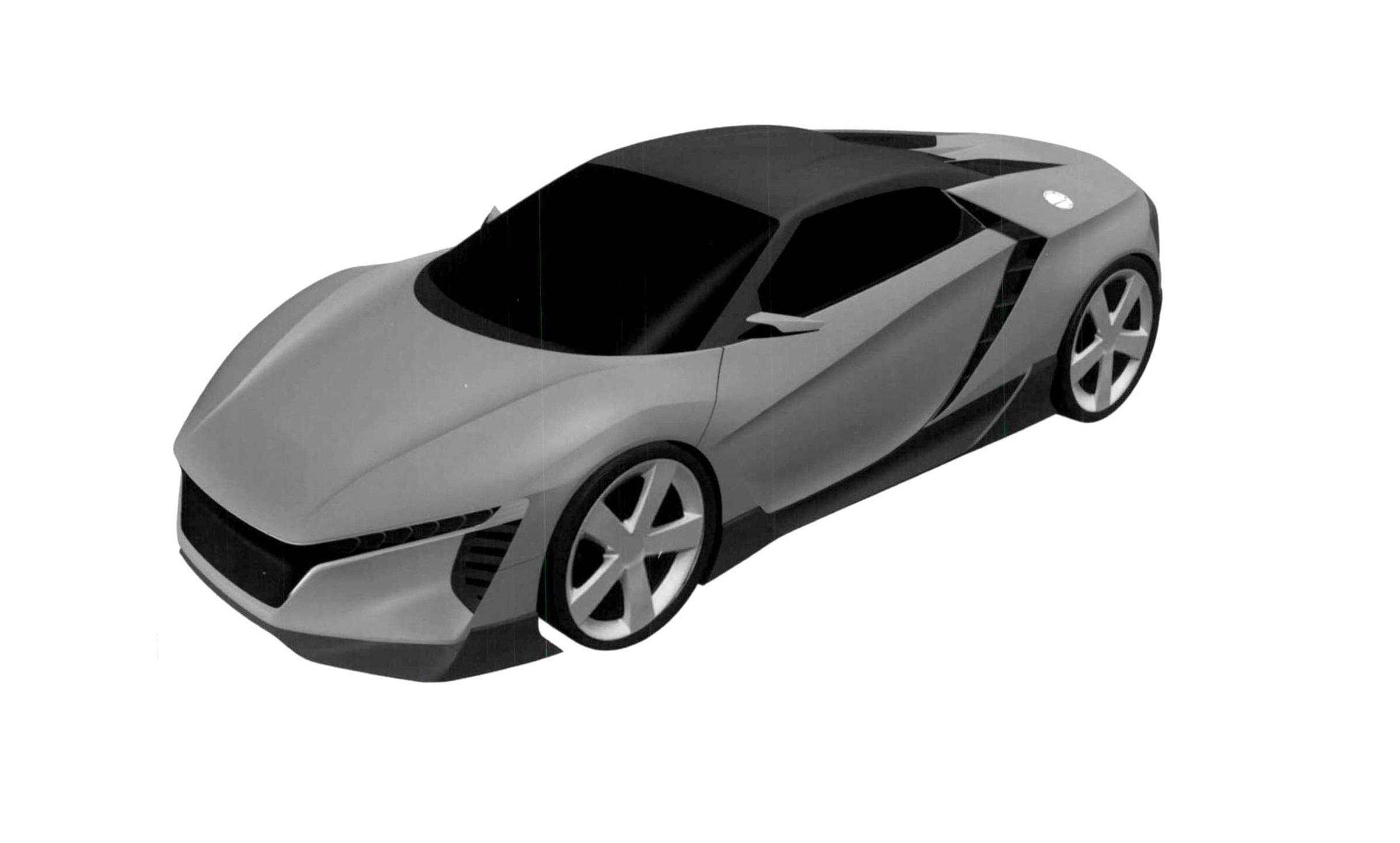 Honda запатентовала название новой модели 1