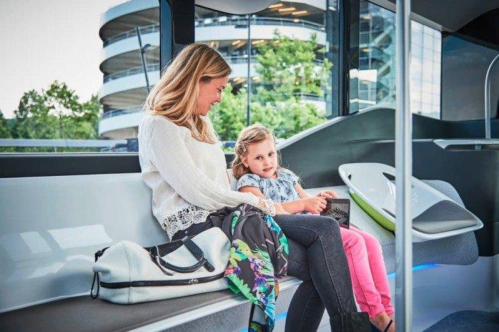 Mercedes-Benz тестирует футуристический автобус 2