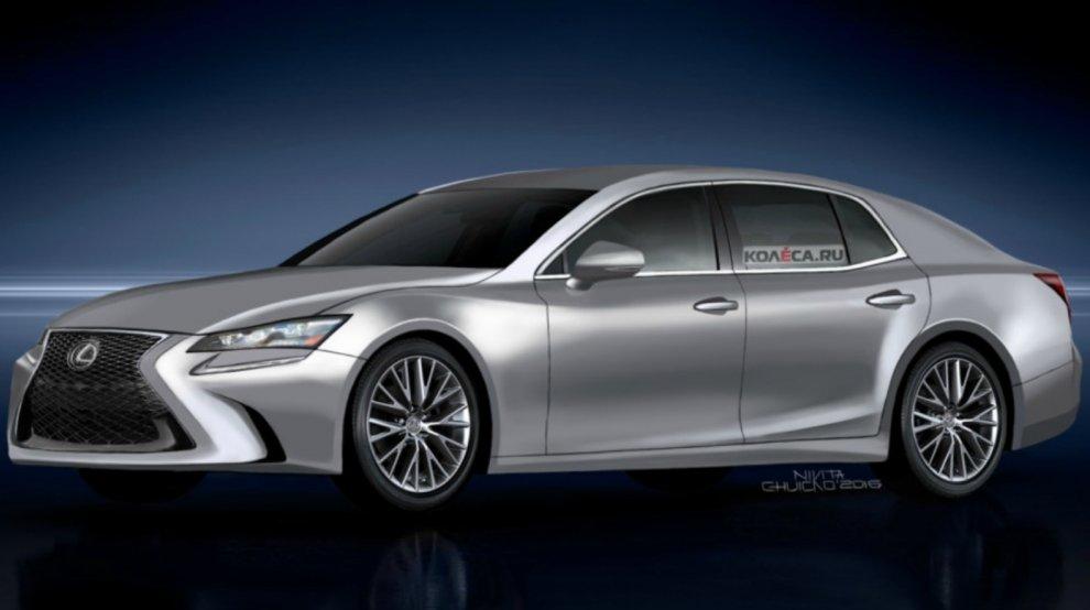 Опубликованы первые фото нового Lexus LS 2