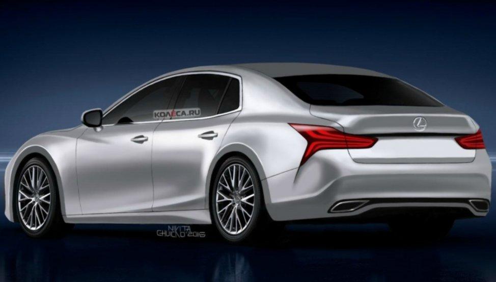 Опубликованы первые фото нового Lexus LS 1