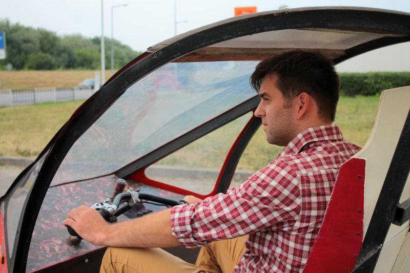 Житель Ивано-Франковска создал «экономичный» электромобиль 1