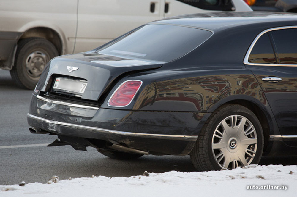 «Сколько стоит поцарапать» Bentley 1