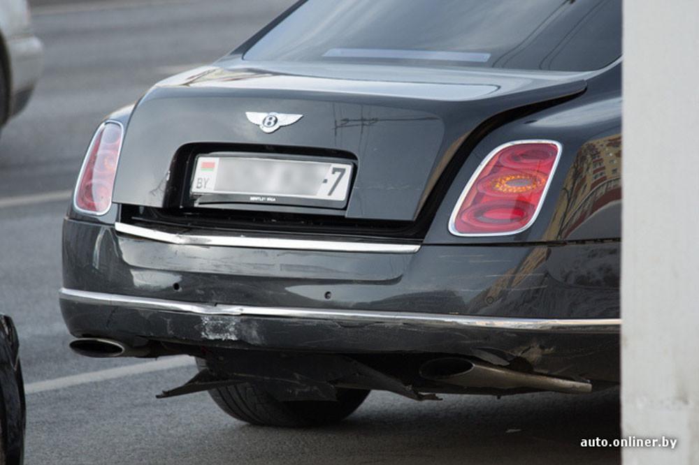 «Сколько стоит поцарапать» Bentley 2