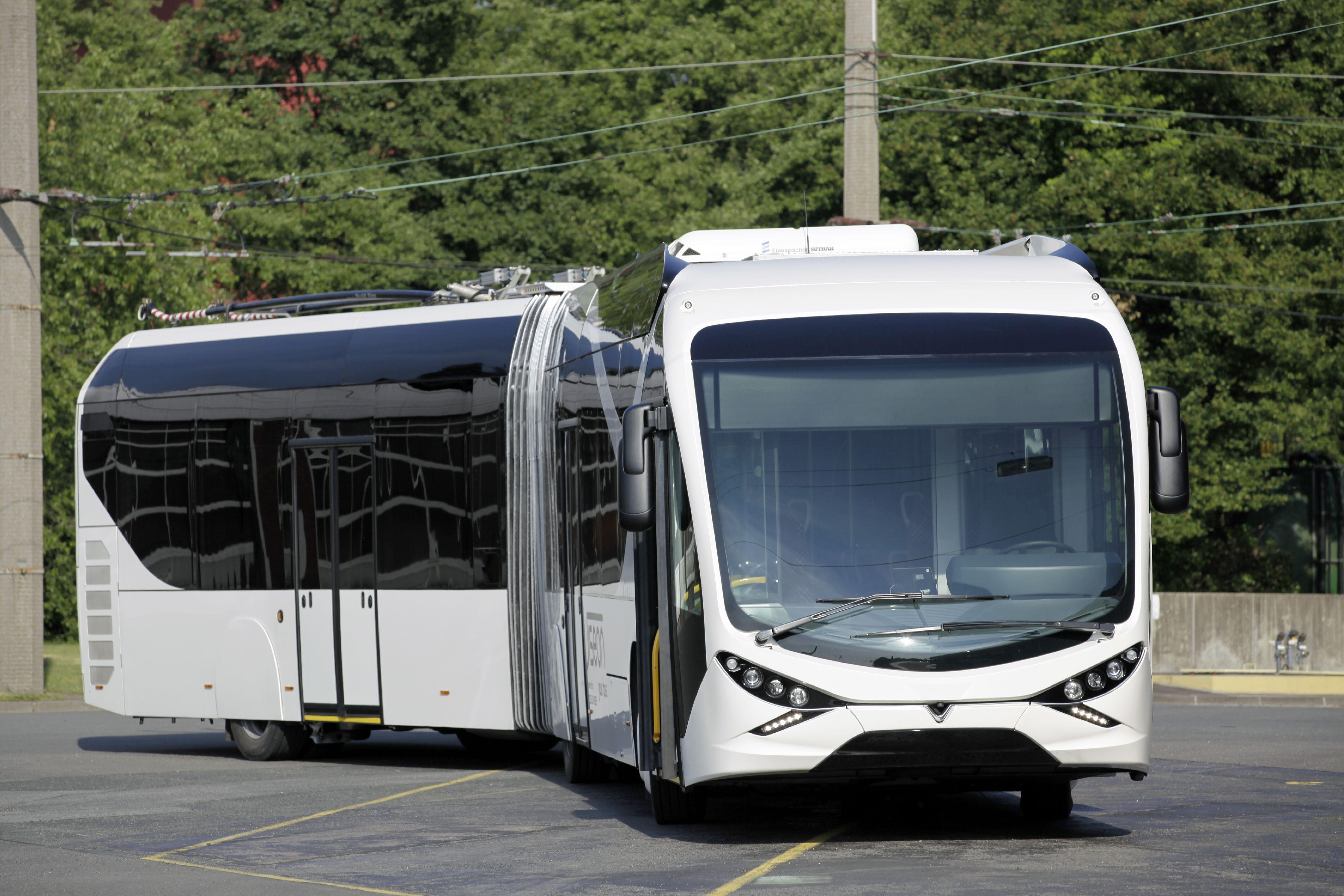Как выглядит самый дорогой в мире троллейбус 1