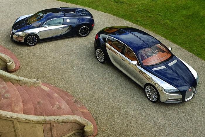 Bugatti подумывает о выпуске кроссовере и седана 1