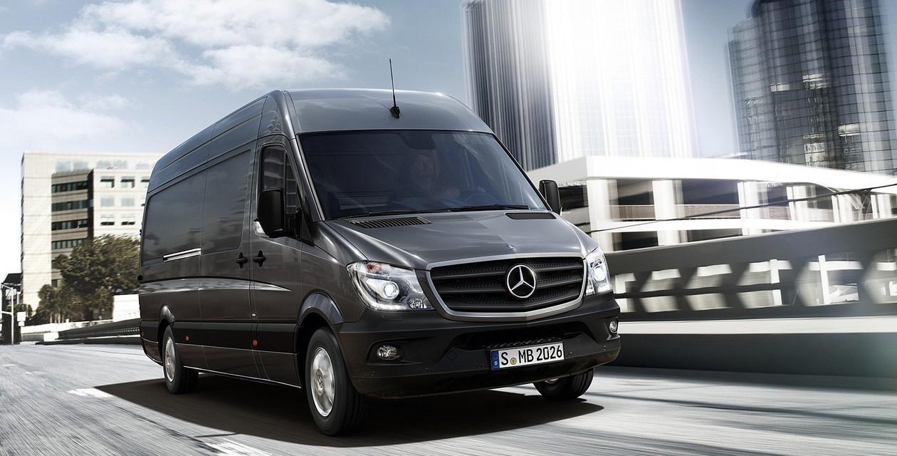 Mercedes-Benz Sprinter станет электрическим 1