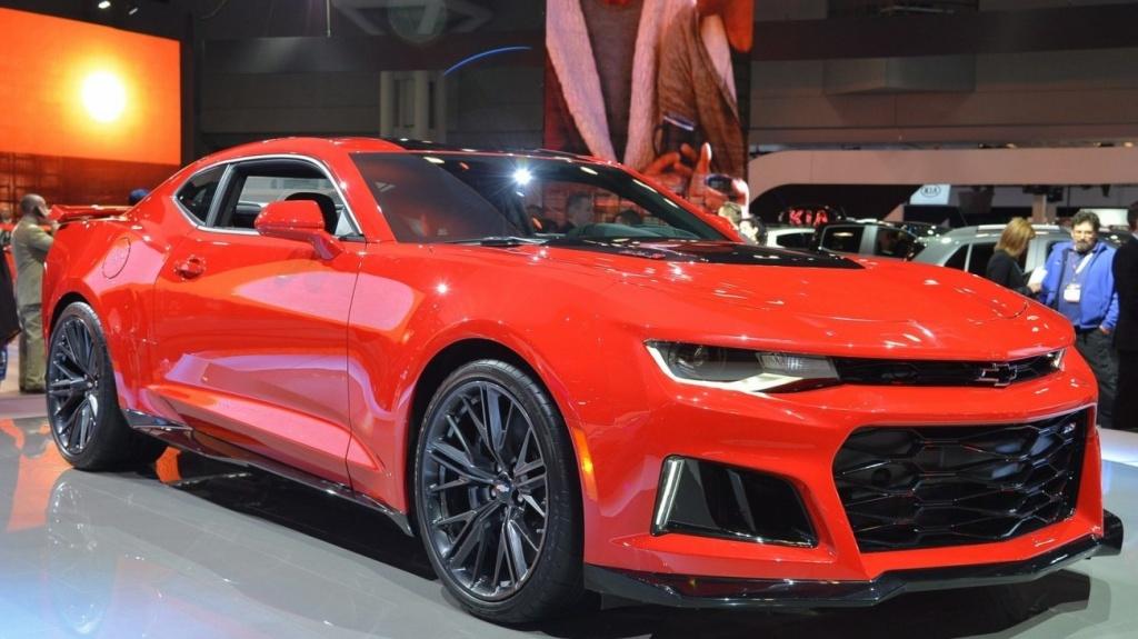 Трековый Chevrolet Camaro станет мощнее 1