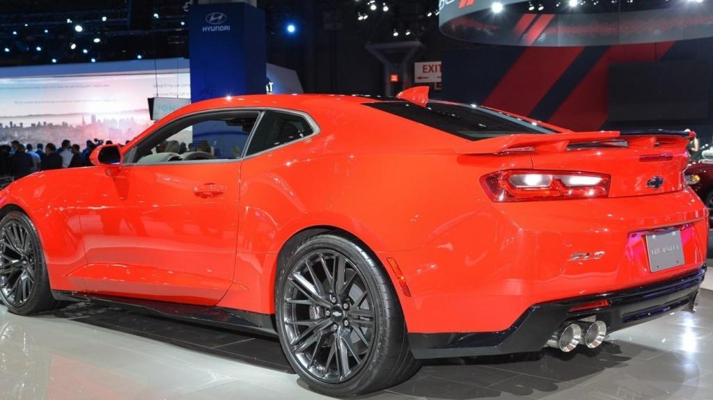 Трековый Chevrolet Camaro станет мощнее 2