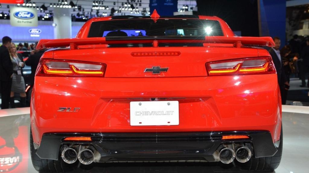 Трековый Chevrolet Camaro станет мощнее 4