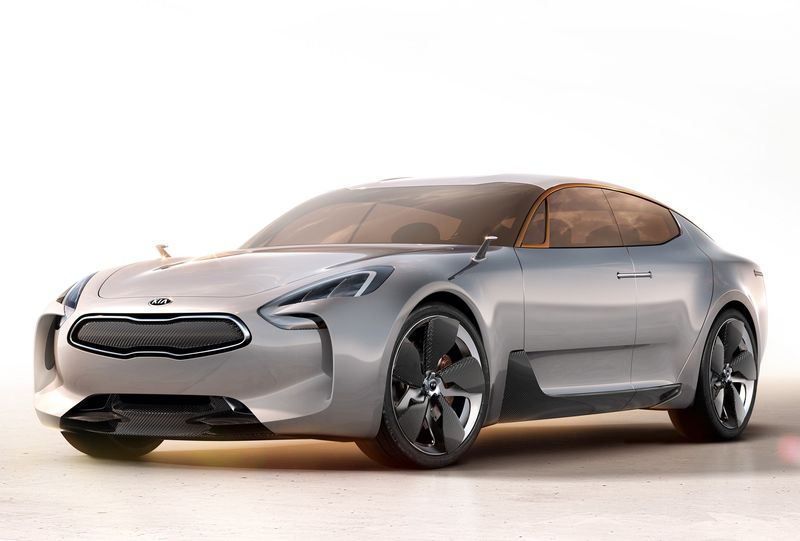 Новый седан Kia получит черты купе 1