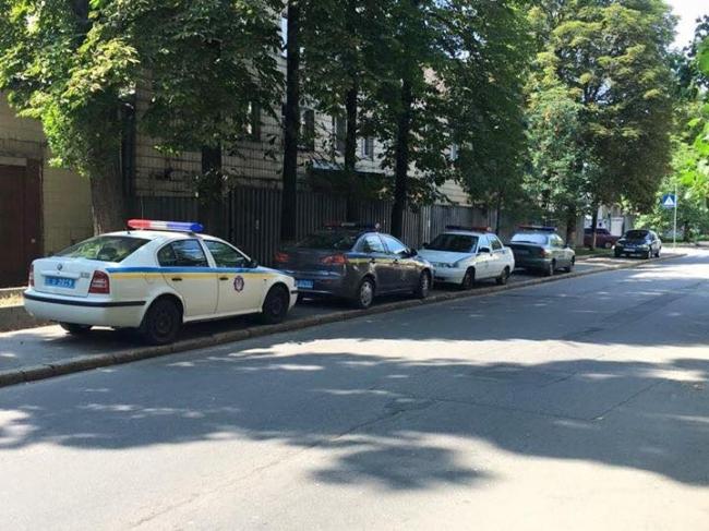 Полицейские показали, как не нужно парковаться 1