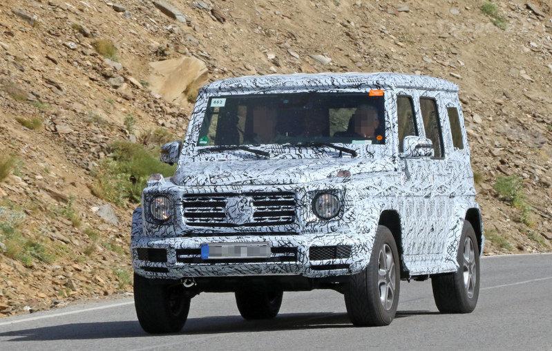 Марка Mercedes готова презентовать новый G-Class 1